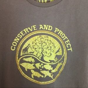 Tops - Conserve and Protect Woman's T Shirt Size M